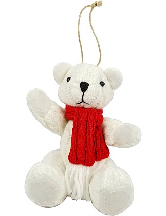 Bear Christmas Tree Ornament