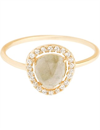 Nora Pave Ring