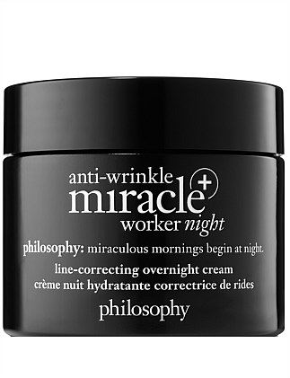 AW MIRACLE WORKER + LINE-CORRECTING OVERNIGHT CREAM 60ML
