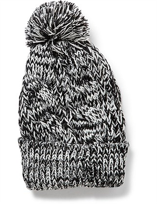 0b77b10258ef4 CABLE KNIT BEANIE Special Offer