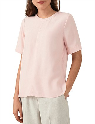 Dobby Weave Refined T-Shirt