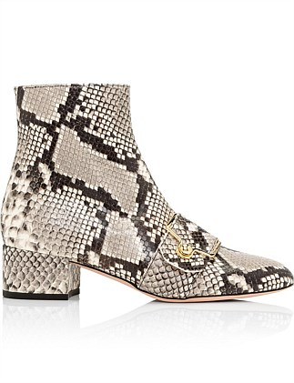 MAGGYE BOOTIE GOAT PRINTED PHYTON W/ BUCKLE