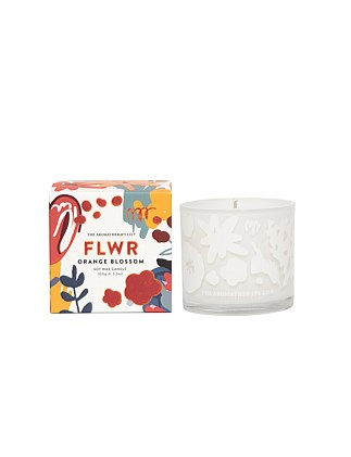 Aromatherapy Co FLWR Candle - Orange Blossom