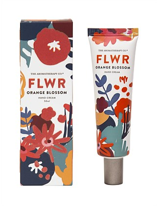 Aromatherapy Co FLWR Hand Cream - Orange Blossom