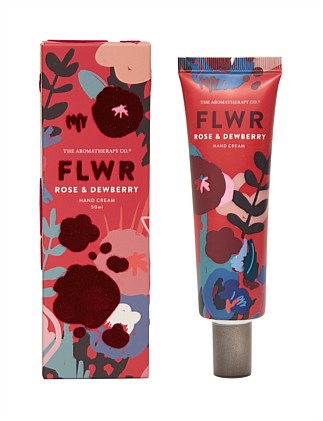 Aromatherapy Co FLWR Hand Cream - Rose & Dewberry