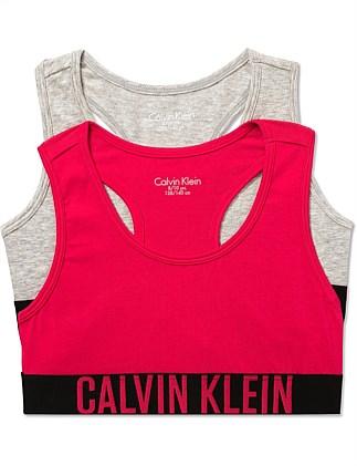 55e3dd70e7407 Intense Power 2Pk Bralette (Girls 8-14 Yrs). Calvin Klein