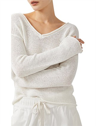 Elle Tape Yarn Jumper
