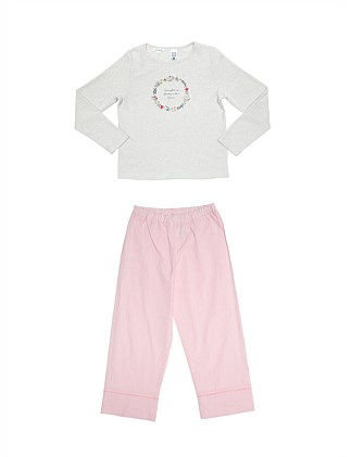Girls PJs Placement Set (Girls 8-14 Yrs)
