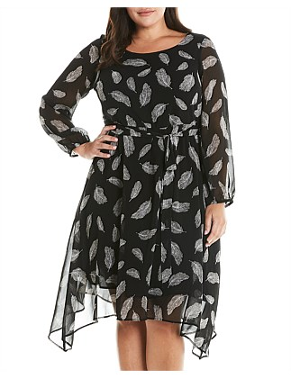 4aee9282af1d Falling Feathers Dress Special Offer
