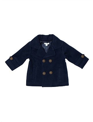 Double Breasted Pea Coat(3M-24M)