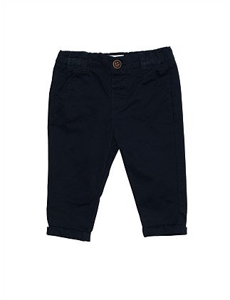 Pant Navy Drill Smart(3M-24M)