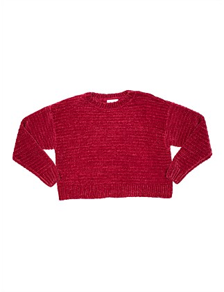 Chenille Jumper (Girls 8-16)