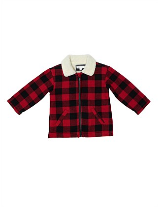 Shearling Collar Bonmber Jacket (Boys 2-7)