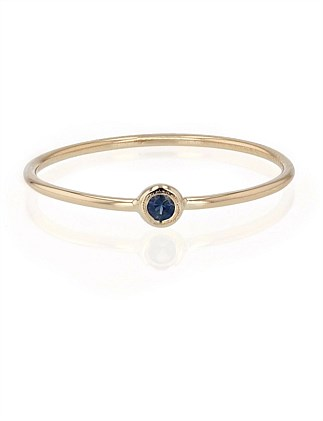 Lunette Exclusive Blue Saphire Stone Ring