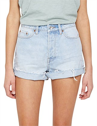 RAE RIGID DENIM SHORT