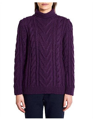 744d5c3bc1a JOHN MACARTHUR CABLE KNIT Exclusive. Marcs Women