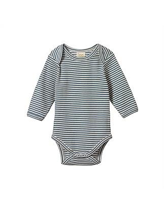 4c824f39b97b Long Sleeve Bodysuit(0-3M-1Y). Nature Baby