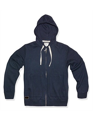 TEXTURED KNIT HOODIE (Boys 8-14 Years)