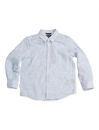 THE LINEN SHIRT (Boys 3-7 Years)
