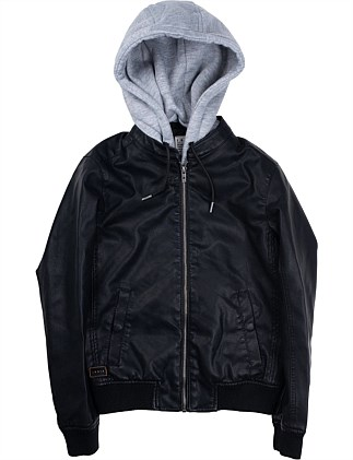BOMBER HOODIE JACKET (Boys 8-14 Years)
