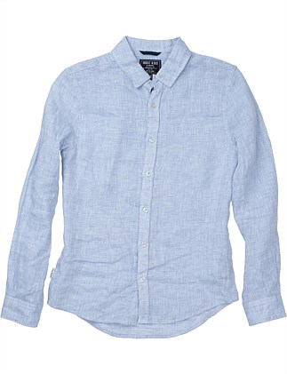 THE LINEN SHIRT (Boys 8-14 Years)