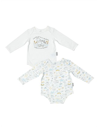 2 Pack Bodysuit Set(NB-12M)