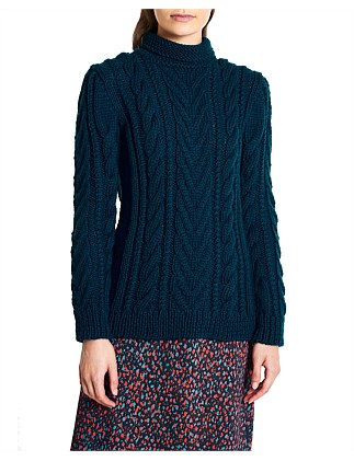 77bae4caa7f2 JOHN MACARTHUR CABLE KNIT Exclusive. Marcs Women