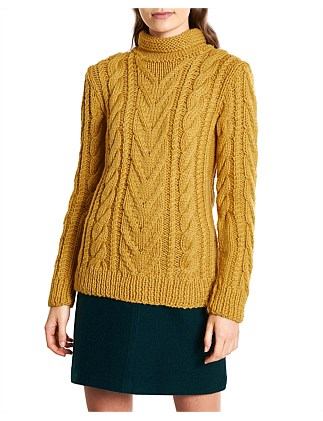 f3675e416eb93a JOHN MACARTHUR CABLE KNIT Exclusive. Marcs Women