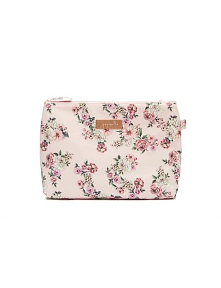 Fleur Pink Medium Cosmetic Bag
