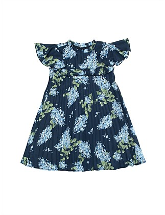 Floral print swing dress (Girls 3-7 Years)