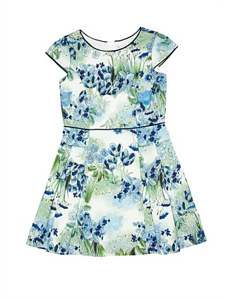 Floral Panelled dress (Girls 8-16)