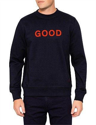 MENS REG FIT SWEATSHIRT GOOD