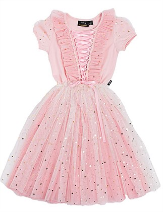Disney Princess Aurora Tulle Dress (Girls 3-8)
