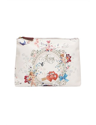 LARGE MAKEUP POUCH