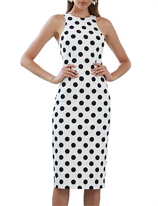 Dot Spot Racer Dress