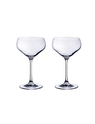 Purismo Bar Champagne Coup Set Of 2