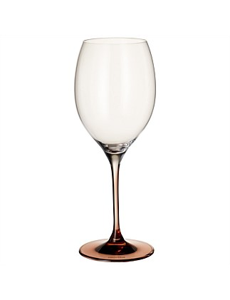 Manufacture Glass Bordeaux Red Wine Goblet Set of 2