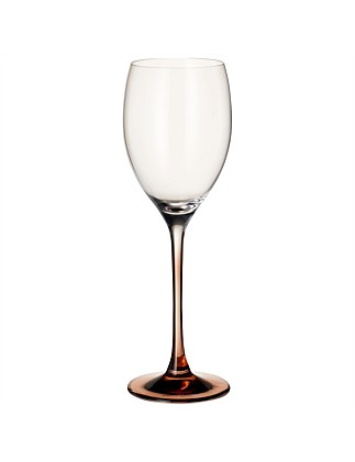 Manufacture Glass White Wine Goblet Set Of 2