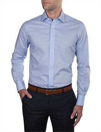 MICRO H'TOOTH CONTEMPORARY FIT SHIRT
