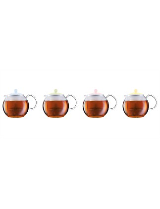 75th Colours Assam Teapot with Filter 1L
