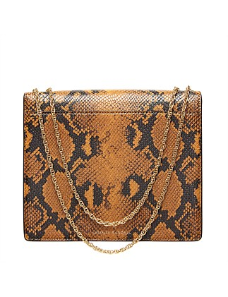 Marla Square Bag With Chain