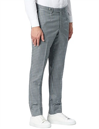 Gingham Tailored Pant