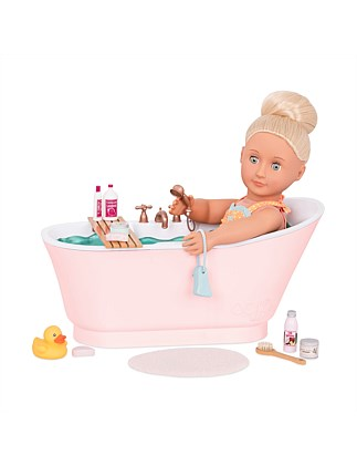 Our Generation Deluxe Bathtub Set