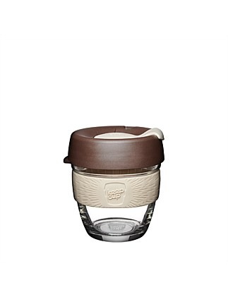 KEEPCUP Brew small reusable coffee cup 227ml - Roast