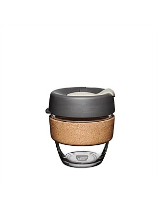 KEEPCUP Brew Cork small reusable coffee cup 227ml - Press