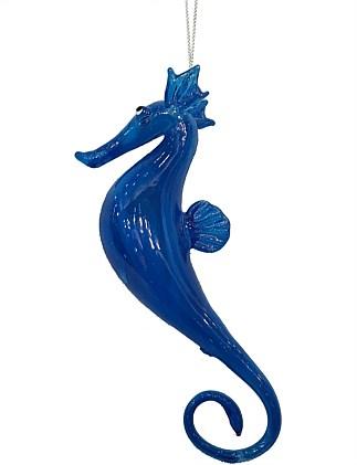 Seahorse Christmas Tree Ornament