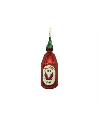 Chili Sauce Christmas Tree Ornament