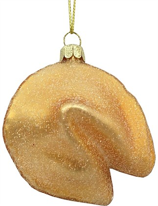 Fortune Cookie Christmas Tree Ornament