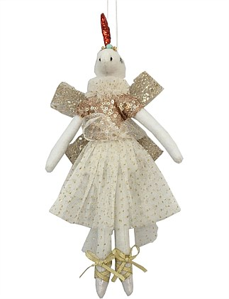 Ballerina Unicorn Christmas Tree Ornament