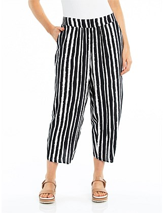 SEA STRIPE DRAPE PANT